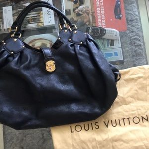 AUTHENTIC LOUIS VIUTTON perforated Hobo bag